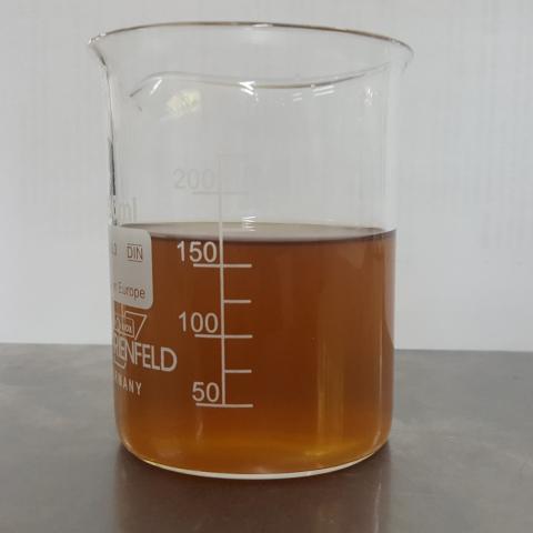 Agua residual con 100 g/L de Fósforo